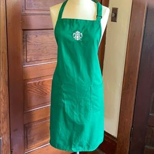 Starbucks apron perfect for Halloween